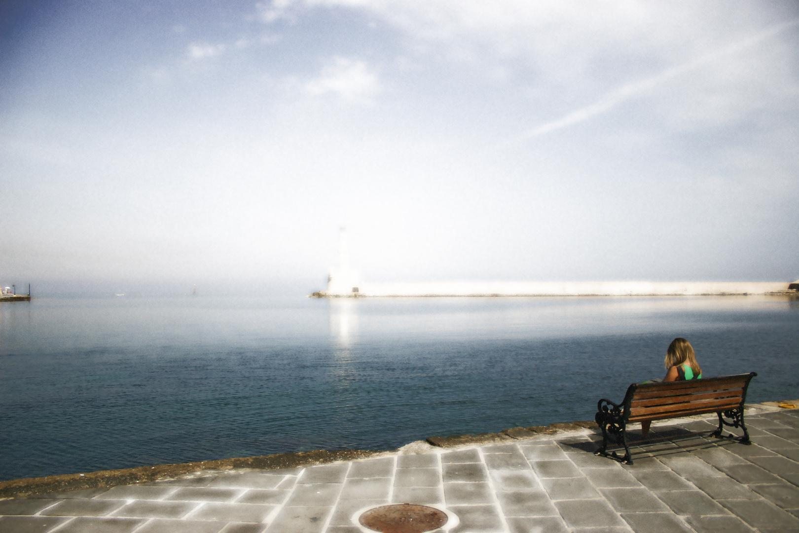 Kreta - Hafen von Chania