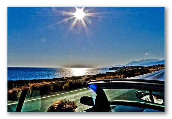 Kreta mit dem Cabriolet