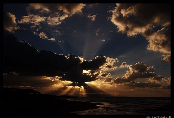 Kreta#1, Abendsonne