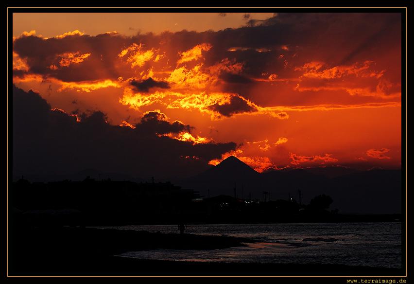 Kreta#2, Abendsonne