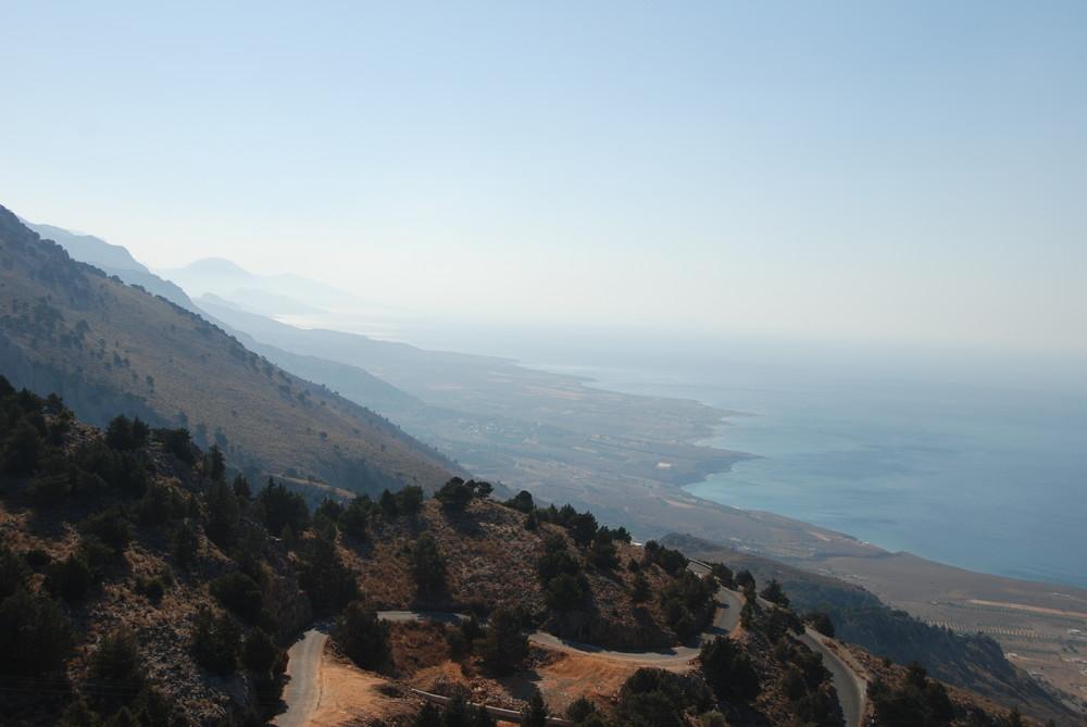 Kretas Südküste bei Frangokástello