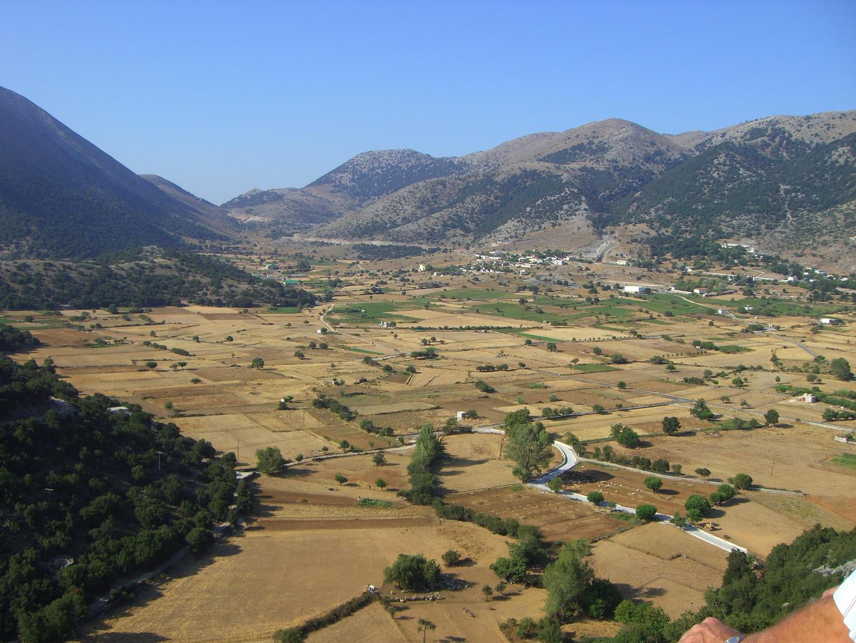 Kretas Täler und Ebenen