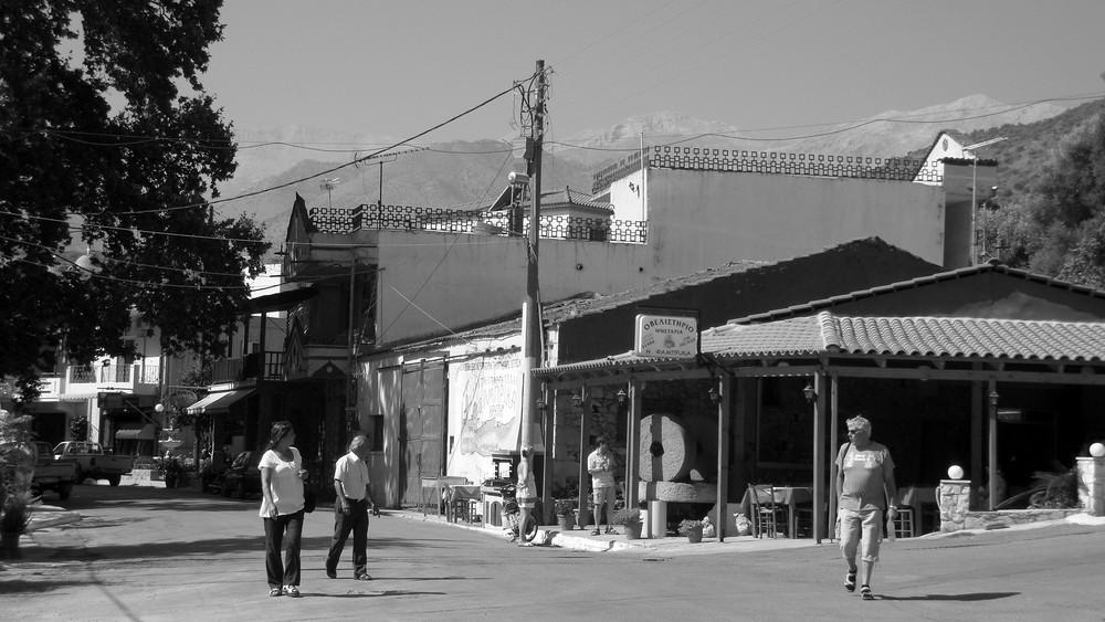 Kretisches Dorf