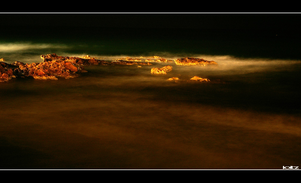 """-""""Kretisches Meer"""" bei Nacht-"""