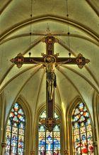 Kreuz in der Nikomedeskirche Steinfurt