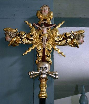 Kreuz in einer Katholischen Kirche bei Erlangen
