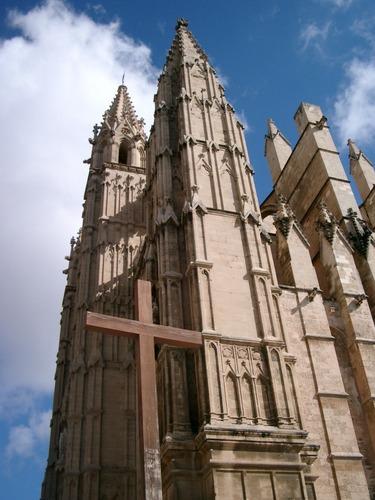 Kreuz . Kirche