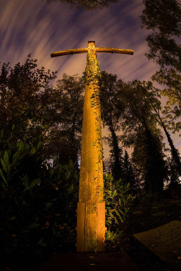 Kreuz - Lichtmalerei