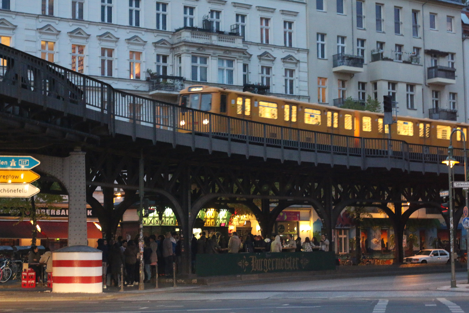 Kreuzberg am frühen Abend