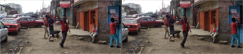 Kreuzblick Addis Abeba