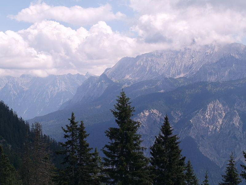 Kreuzeck bei Garmisch 1.