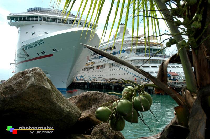 Kreuzfahrerromantik in der Karibik
