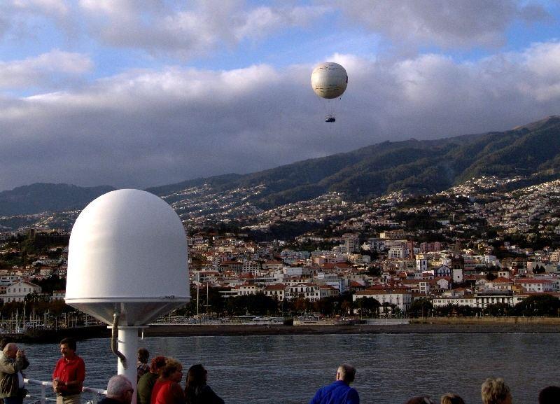 Kreuzfahrt - Wir nehmen Abschied von Funchal/Madeira