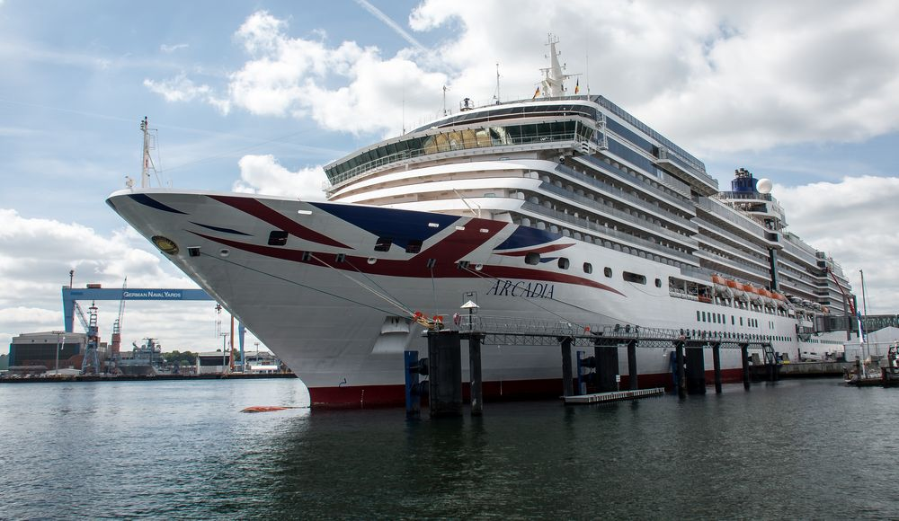 Kreuzfahrthafen Kiel
