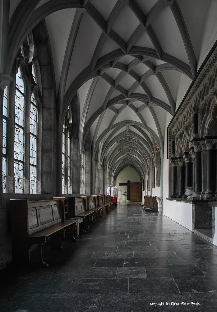 Kreuzgang im Dom zu Aachen