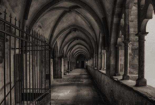 Kreuzgang im Magdeburger Dom