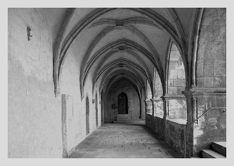 Kreuzgang im Naumburger Dom