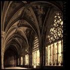 Kreuzgang in einer Abtei