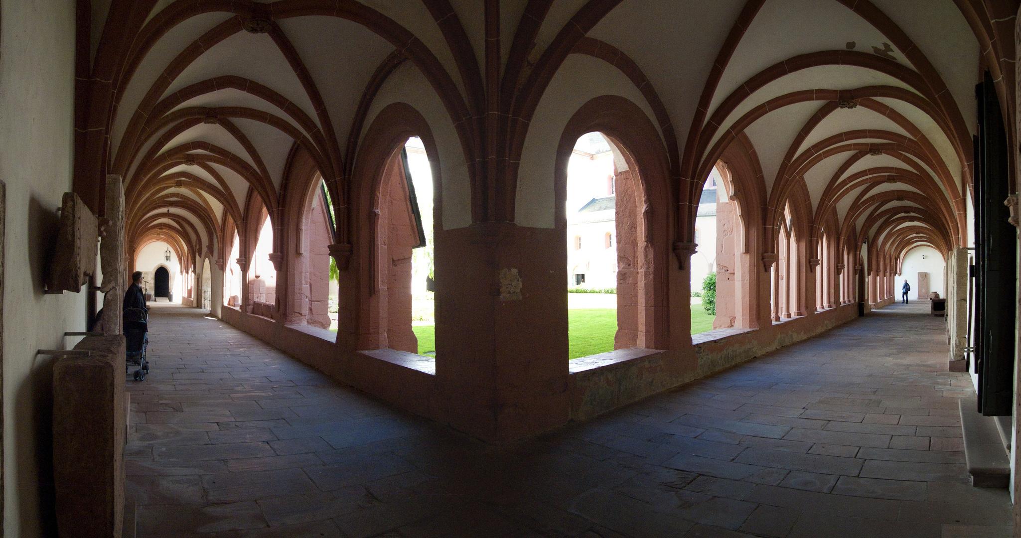 Kreuzgang vom Kloster Eberbach