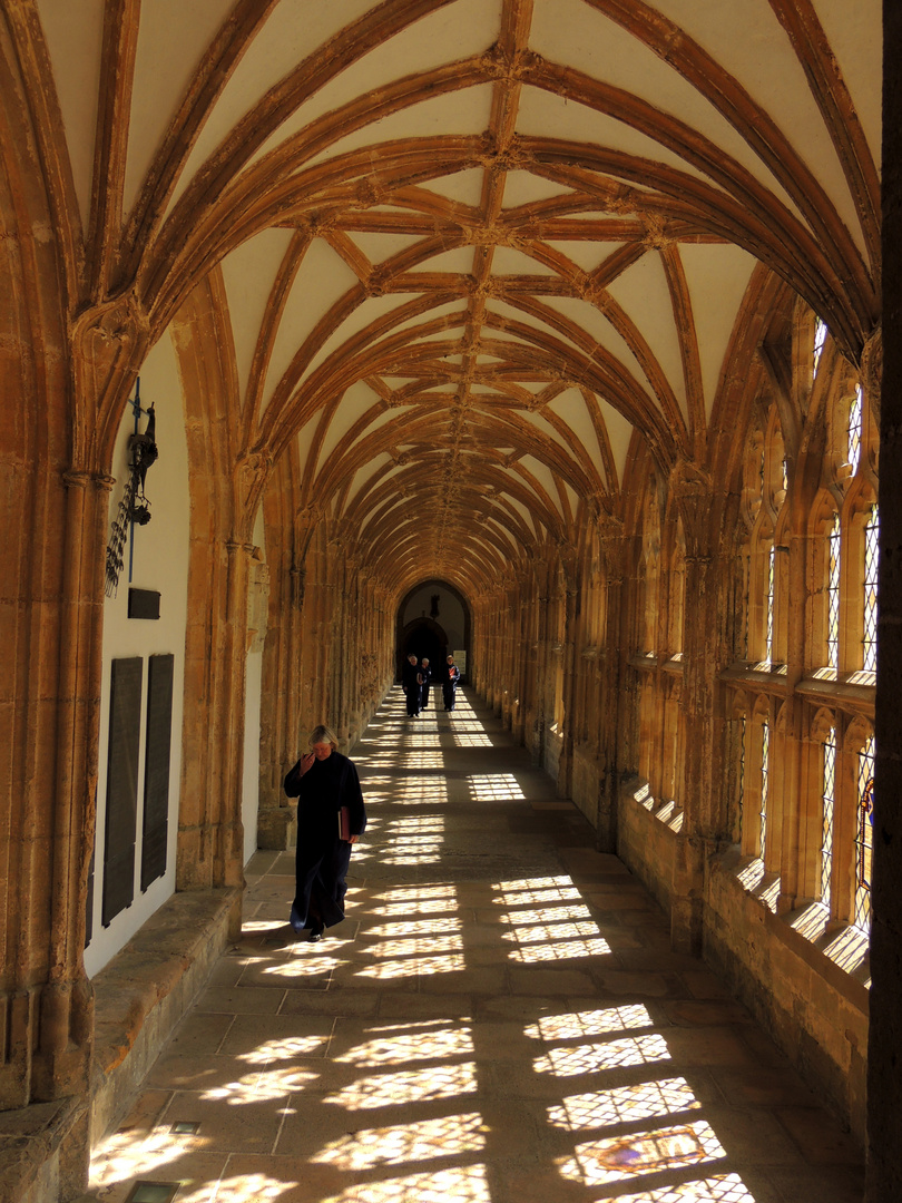 Kreuzgang Wells Cathedral