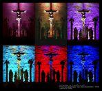 Kreuzigungsgruppe im Kaiserdom zu Frankfurt / M