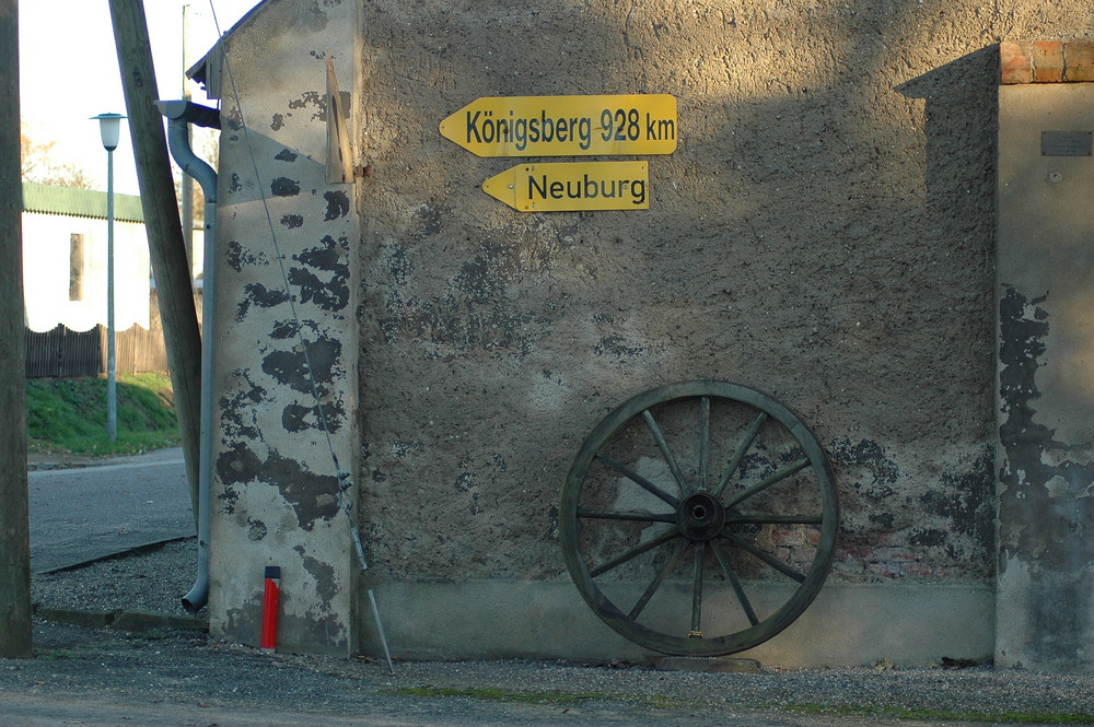 Kreuzung in Kartlow (Meck.Pom.)