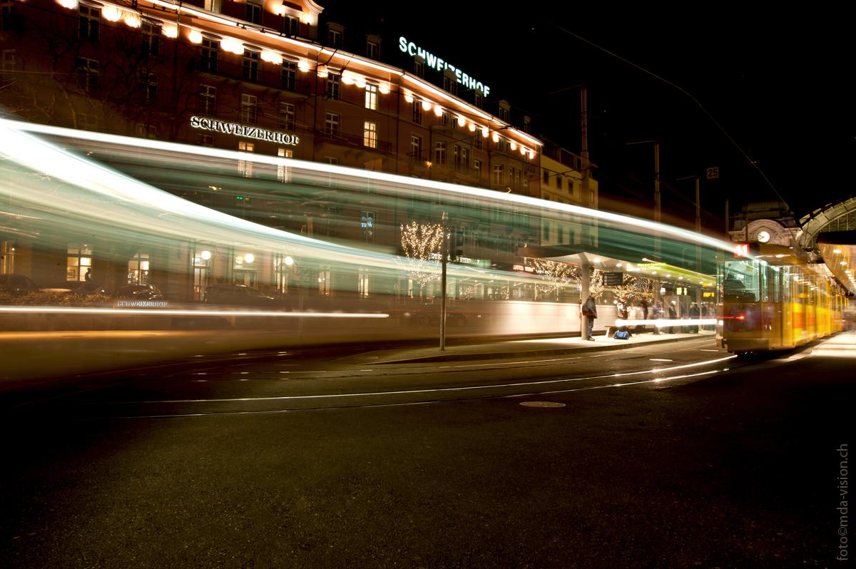 KreuzVerkehr am Bahnhof SBB