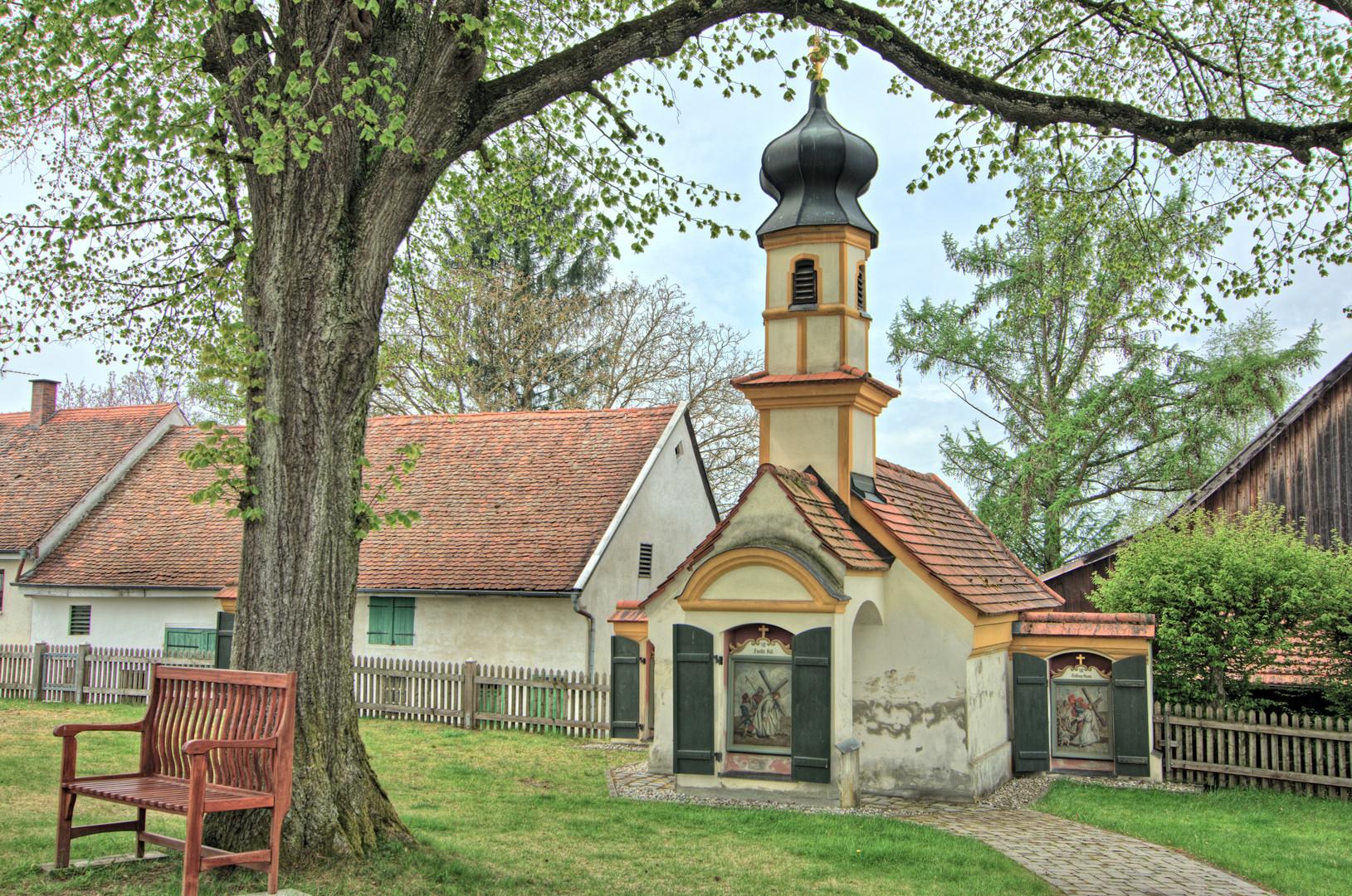 Kreuzwegkapelle von Wenigmünchen (Lkr. Ffb)