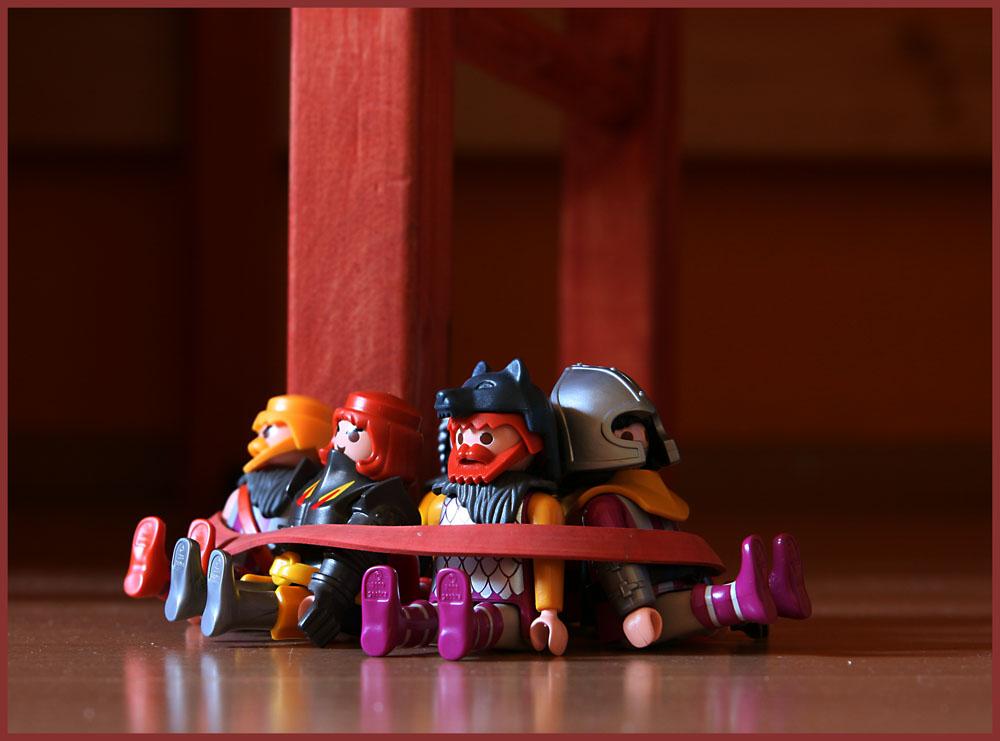 Krieg im Kinderzimmer....