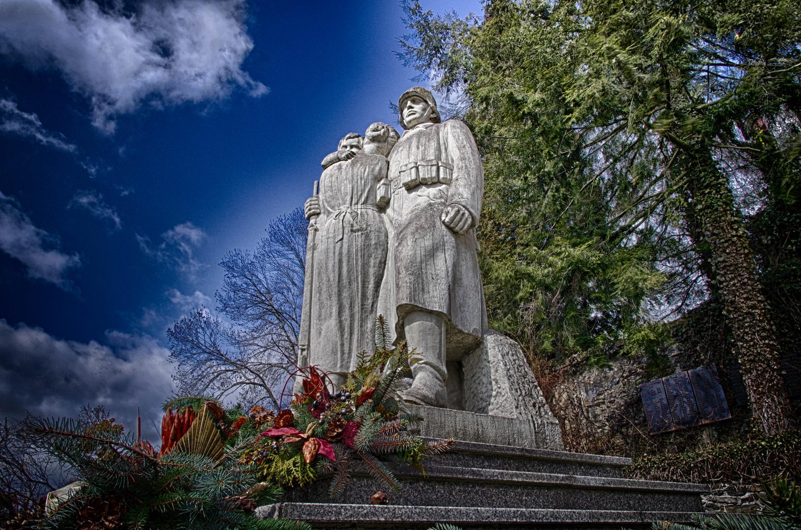 Kriegerdenkmal in Raschau
