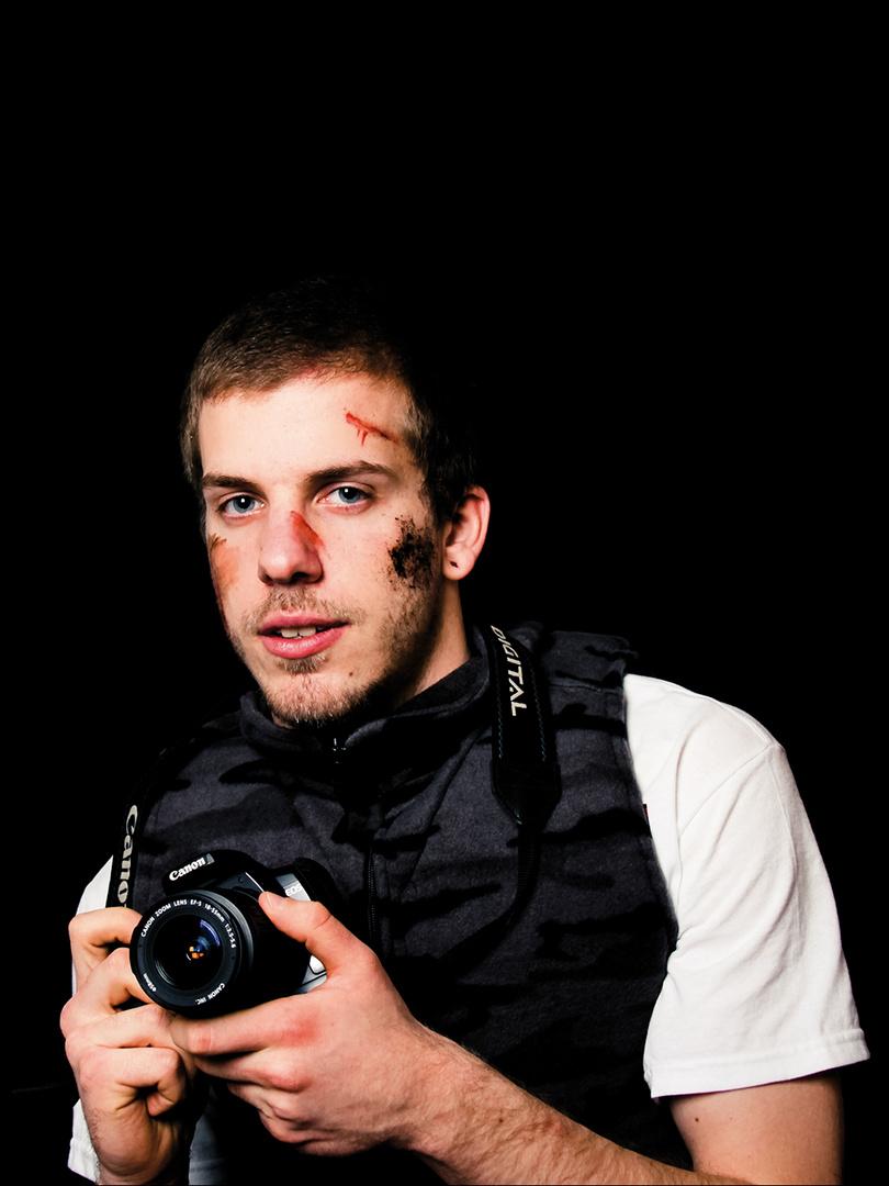 Kriegsberichterstatter - ein Portrait