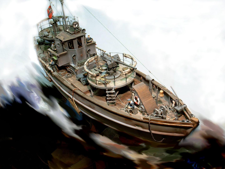 Kriegsfischkutter (M=1:35)