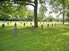 Kriegsgräberstätte in Sandweiler (Luxemburg)