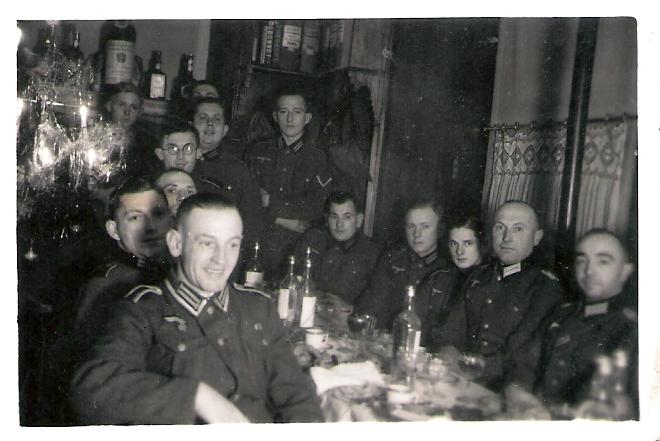 Kriegsweihnachten im Felde 24.12.1940