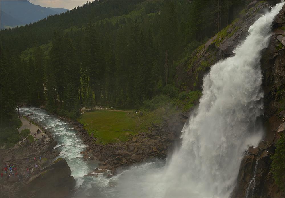 Krimmler Wasserfälle ...,