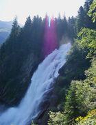 Krimmler Wasserfall in Österreich