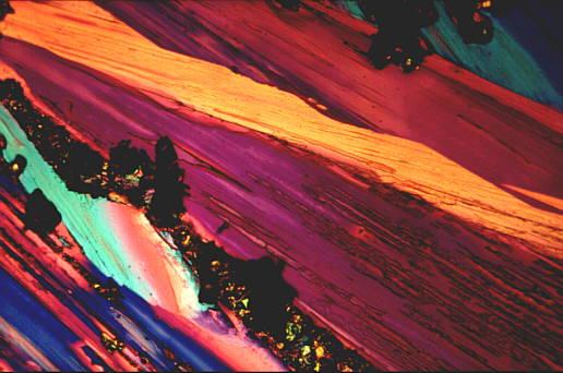Kristalle unterm Mikroskop