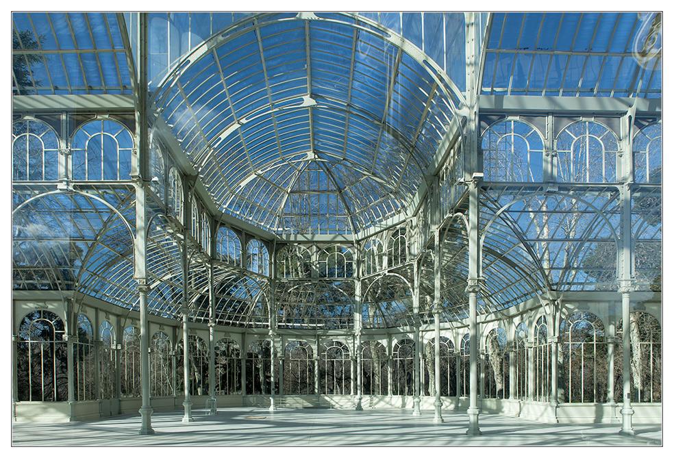 Kristallpalast im Park Retiro Madrid #2