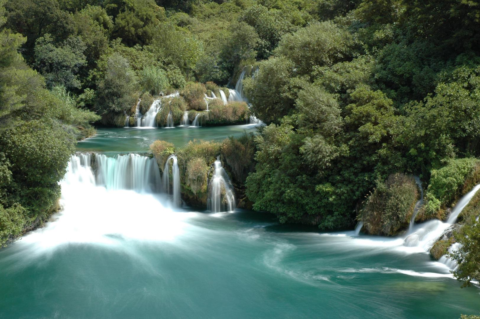 Krka Wasserfälle 3