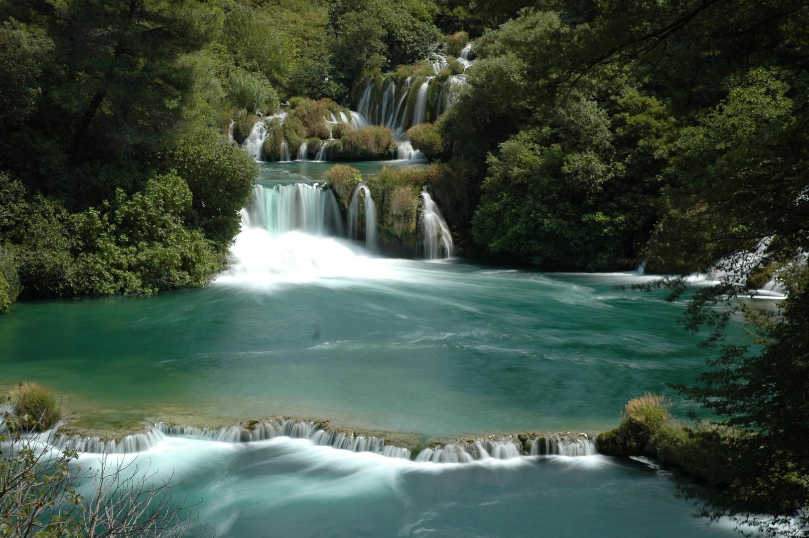 Krka Wasserfälle 5