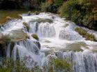 Krka-Wasserfälle in Kroatien
