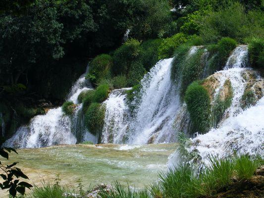 Krka-Wasserfälle/Dalmatien 10