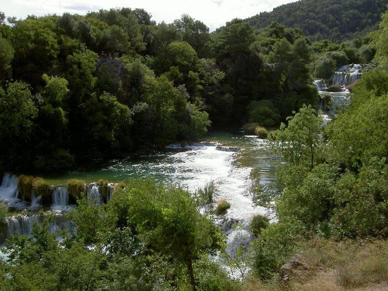 KRK'er Wasserfälle