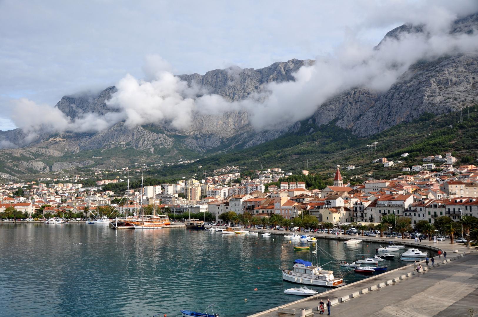 Kroatien-2-Makarska am Morgen