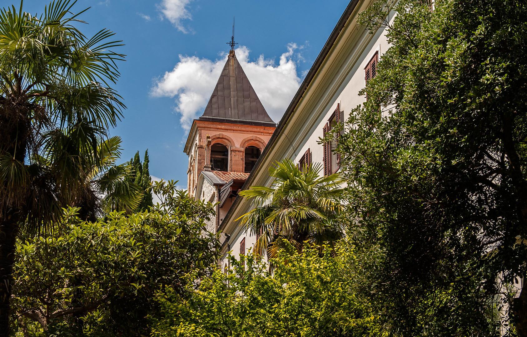 Kroatien - Franiskanerkloster im NP KRKA