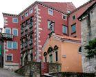Kroatien, Istrien, Labin, Barockpalast der Familie Battiala- Lazzarini 1
