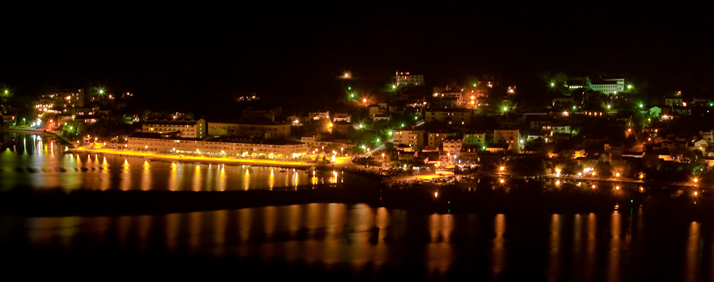 Kroatien Pag bei Nacht 02