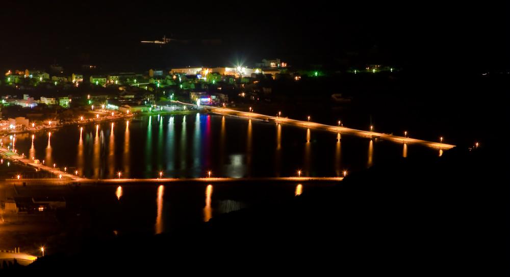 Kroatien Pag bei Nacht 03