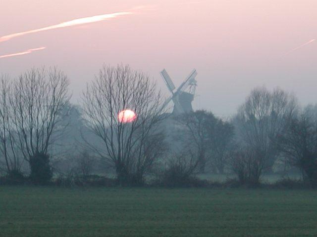 Krokauer Mühle im Herbst