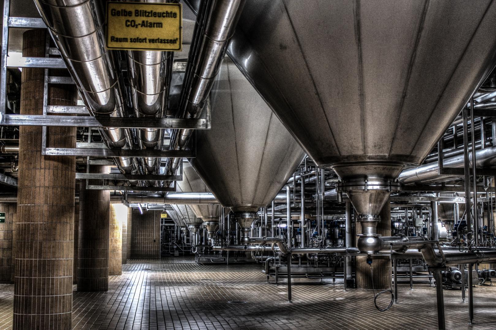 Krombacher Brauerei Produktion